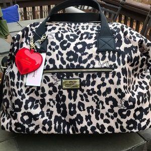 Juicy Couture Glam Rock Weekender Bag NWT Leopard